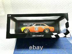 1/18 Minichamps Alfa Romeo Gta 1300 Junior Drm 1972 #83 Limited Edition