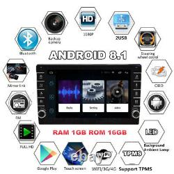 1080P Touch Screen 9in 2DIN Car Stereo Radio GPS Wifi Blutooth Mirror Link OBD