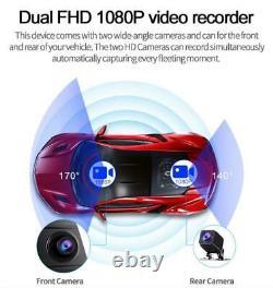 11.66 Car DVR Dash Camera 4G Wifi GPS Navi BT Rearview Mirror Recorder ADAS