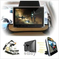 11.6Touch Button 1080P HD Car Offroad Monitor Headrest DVD Player Built-in HDMI