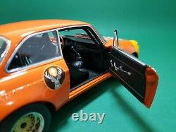 118 Minichamps Alfa Romeo GTA 1300 Junior Jägermeister #83 DRM 100721283 ABYLON