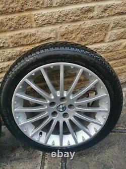 17 Alfa Romeo Gt Gta 156 147 Inch Alloy Wheels Tyres 2004-10 7jx17 52.5