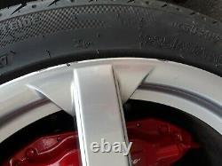 18 x 8.5j Alfa Romeo 156 (147 GT GTA GTV SPIDER) Alloy Wheels x4 Fiat Doblo