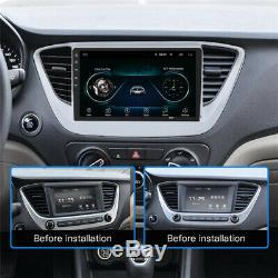 1DIN 9 Android 8.1 Car Sat Nav GPS Head Unit Wifi Audio MP5 Player Stereo Radio