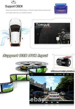1DIN Rotatable Android9.1 Car MP5 Player Dashboard Stereo Radio GPS WIFI 10.1in