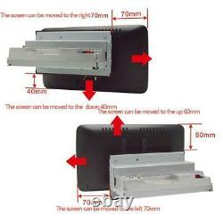 1Din 10.1in Car Stereo Sat Nav GPS Mirror Link Bluetooth Radio Wifi MP5 Player