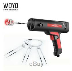 1x EU Plug 220V Induction Magnetic Heater Gun Tool For Car Truck Flameless Heat