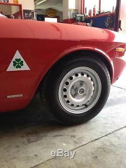 4 Alfa Romeo GTA Giulia Bertone Spider Felgen 6x14 mit TÜV Teilegutachten