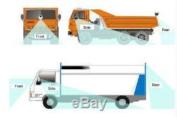 7LCD Monitor+4CH DVR Box+4 Pcs Night Vision HD Camera Kit For Vehicle Truck Van