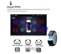 9'' 1 DIN Touch Screen Quad-core 1+16GB Car Stereo Radio BT GPS WiFi 4G DAB DVR