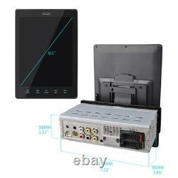9.5 Single DIN Head Unit Car Stereo MP5 Player IPS Screen BT Radio FM Bluetooth