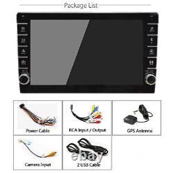 9in 1Din Android 8.1 Car Stereo Touch Screen Radio Sat Nav WiFi USB FM Player