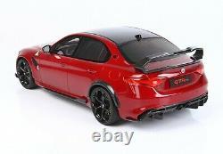 ALFA ROMEO Giulia GTA-M Rosso (BBR) TECA scala 118 PREORDINE