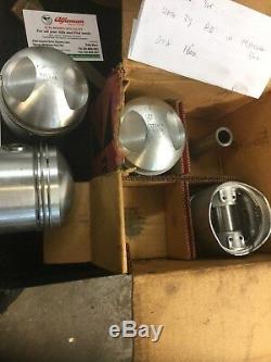 ALFA ROMEO Vintage 101 1600cc GTA engine PISTON SET in Org. Box (Ref. 77) RARE NEW
