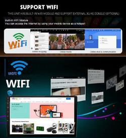Adjustable 8 1 Din Android 8.1 Car Stereo Radio FM MP5 Player Nav GPS BT Wifi