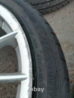 Alfa Romeo 147 156 GT GTA 18 Inch 5x98mm Jetfin Alloy Wheels with new tyres