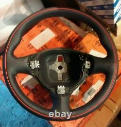 Alfa Romeo 147 GENUINE NOS leather steering wheel plain GT NEW GTA 156