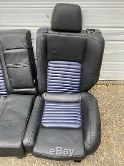 Alfa Romeo 147 GTA Interior Bucket Seats Leather Blue Front Back