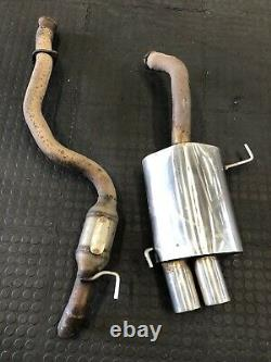 Alfa Romeo 147 Gta Ragazzon Stainless Exhaust Silenced Centre Pipe And Back Box