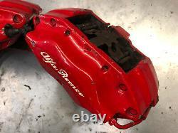 Alfa Romeo 156 147 GTA GTV 3.0 Brembo Front Brake Callipers 305mm Red