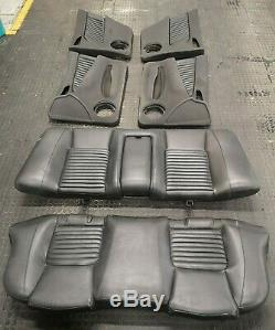 Alfa Romeo 156 GTA Saloon Black Leather Seats / Door Cards Full Interior Heated