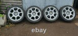 Alfa Romeo Alloy Wheel Gt blacklines gtv, 147 156 gta 5x98 x4 (full set)