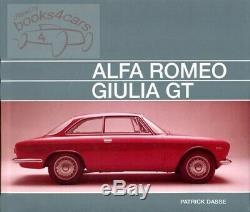 Alfa Romeo Book Giulia Gtv Sprint Gt Gta Gtc Dasse 2000 1750 Veloce Bertone