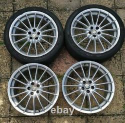 Alfa Romeo GT / 147 156 GTA 18 x 8J Jetfin Alloy Wheels with Tyres 4 5x98