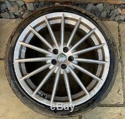 Alfa Romeo GT / 147 / 156 GTA 18 x 8J Jetfin Alloy Wheels with Tyres x 4