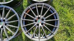 Alfa Romeo GT Jetfins 18 ALUFELGEN TOORA 156 147 GTV GTA Spider GUN METAL