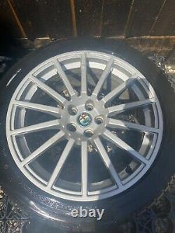 Alfa Romeo GTA 147 GTA 17 Alloy Wheels Rare 14 Spoke 7.5x17 GT