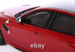 Alfa Romeo Giulia GTAm ROSSO GTA vetrina (BBR) 118 PREORDINE
