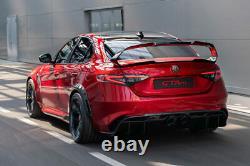 Alfa Romeo Giulia Quadrifoglio Smoked 2021 Restyle Gta Gtam Taillights SET OF 4