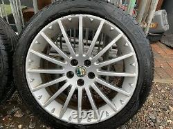 Alfa Romeo Gt Gta 156 147 17 Inch Alloy Wheels Full Set
