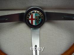 Alfa Romeo Hellebore Holz Lenkrad für Spider Duetto, GT 1300, 1750, 1600 GT GTA