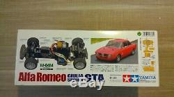 Alfa Romeo giulia sprint GTA, TAMIYA RC 1/10