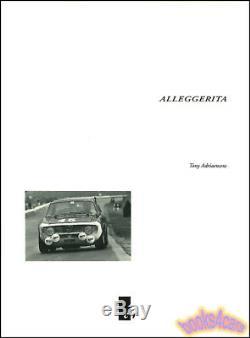 Alleggerita Alfa Romeo Gta Book Guilia Sprint Gtv Gtam 2000 1600 1300 Jr Bertone