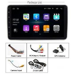 Android 9.0 1+16GB 10.1In 1Din Car Stereo Bluetooth FM MP5 Player GPS Navigation