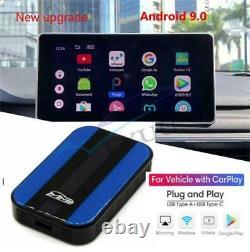 Android 9.0 Quad-core Universal Car Multimedia Video Wireless Carplay Box 4+32GB