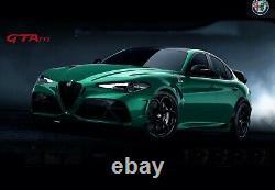 BBR 118 Alfa Romeo Giulia GTA Green-Silver Calipers PRE-ORDER LE of 20 MIB