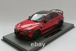 BBR BBRC1852A Alfa Romeo Giulia GTAM in Rosso GTA Limited 32 pcs 118