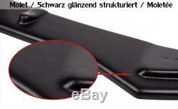 CUP Diffusor Ansatz für Alfa Romeo 156 GTA Heckansatz Heckschürze Flaps ABE ABS