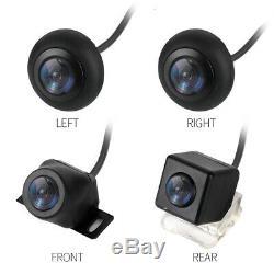Car 360° HD Starlight DVR Bird View Panoramic System+4Camera With Shock Sensor
