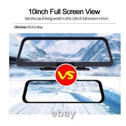 Car Console 10 Android 4G WIFI Car DVR Camera GPS ADAS +Rear Camera Dash Camera
