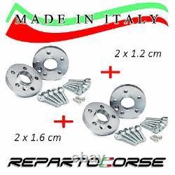 ELARGISSEUR DE VOIES REPARTOCORSE 2x12mm + 2x16mm ALFA ROMEO 147 GTA 937
