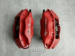 Etriers de frein gauche + droit 147 156 GTA GTV Spider 305 MM Alfa Romeo