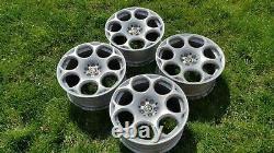 Genuine Alfa Romeo GT Blackline 18 Alloy Wheels 156 147 GTV GTA Satin 156074709