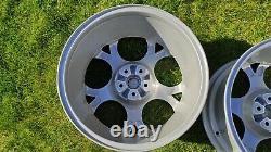 Genuine Alfa Romeo GTA 17 Alloy Wheels 156 147 GTV SILVER GLOSSY 60676373