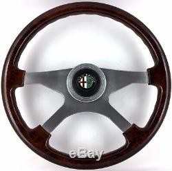 Genuine Atiwe wood rim steering wheel. Alfa Romeo Alfetta Giulietta SUPERB. 8A