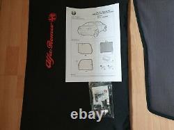 Genuine Rare Alfa Romeo 156 GTA Saloon Rear Window Sunblind Shade Set 46002932